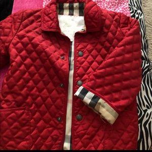 Burberry toddler jacket